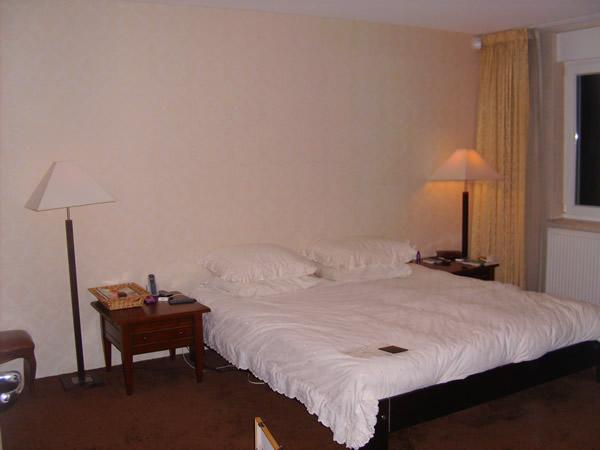 slaapkamer voor de restyling